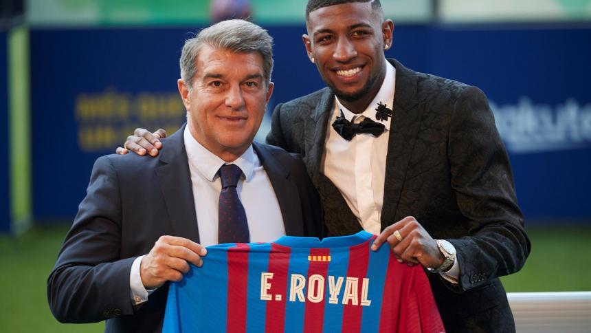 """""""Llego al Barcelona para pelear por un puesto"""": Emerson"""