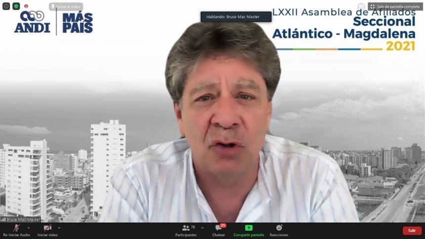 Industria del Atlántico crece por encima del promedio nacional: ANDI