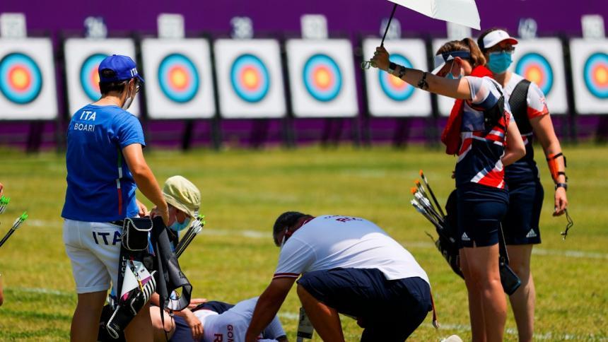 el calor afecta a los deportistas en los Juegos Olímpicos