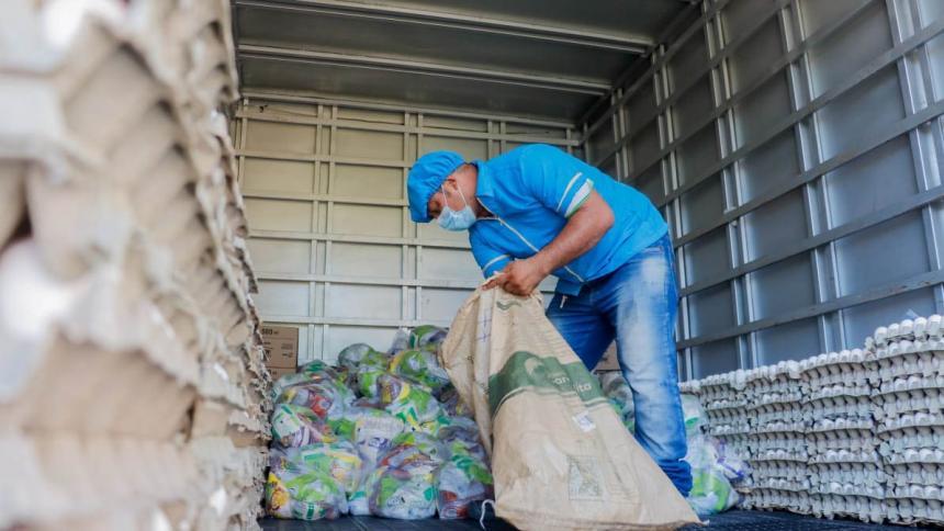 Sincelejo inició la cuarta entrega de alimentos del PAE