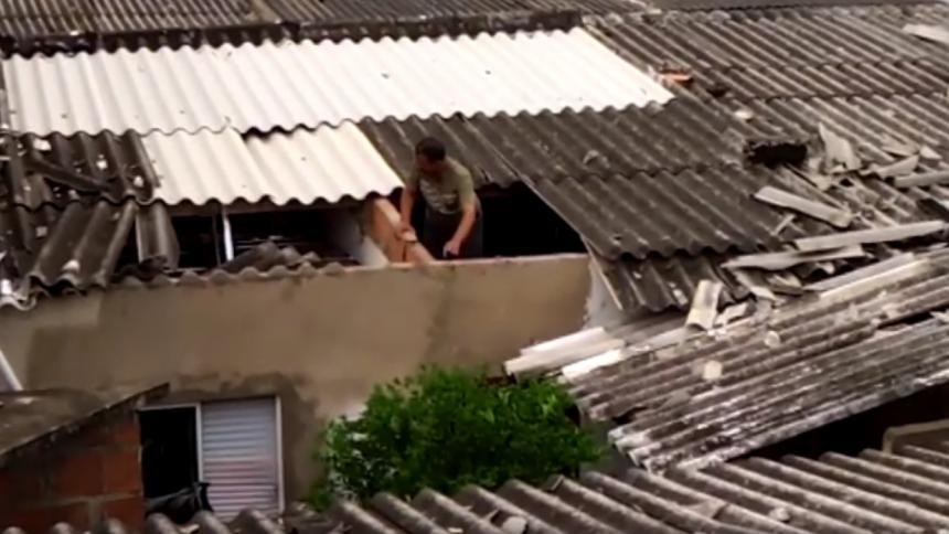 Reportan daños por vendaval en barrios de Soledad