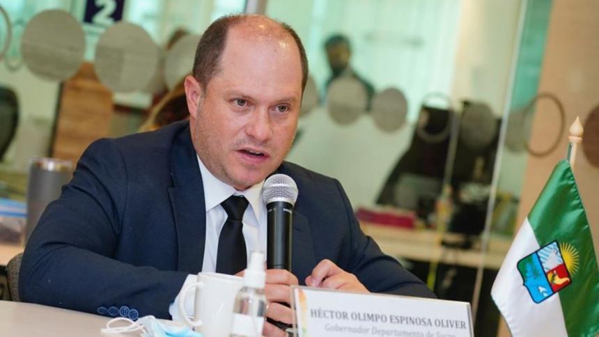 Gobernador insta a trabajar por la conectividad de Sucre