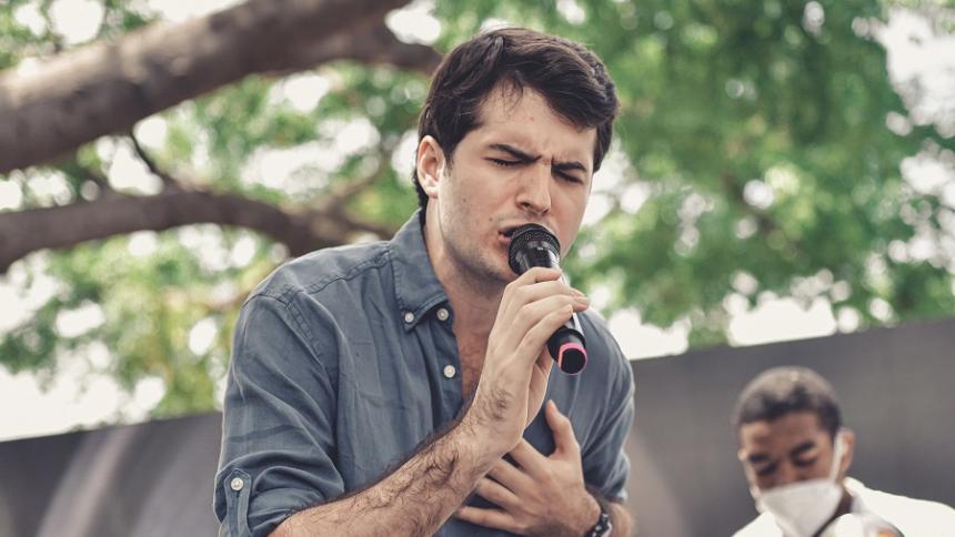 """Mi papá creía en mi talento"": Jorge Antonio Oñate"