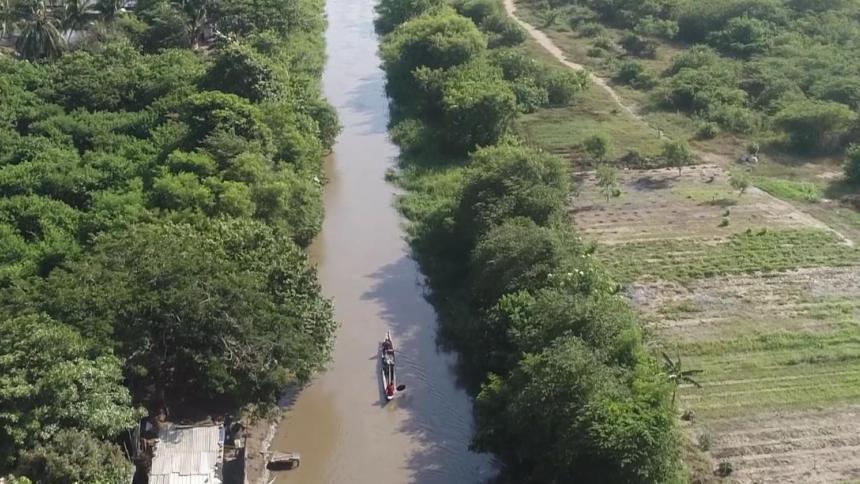 Con recursos de Invías, Corpamag draga 4.2 km del caño Clarín Nuevo