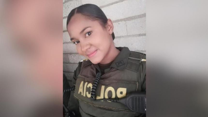 Capturan a hombre que agredió con una patada a patrullera en Medellín