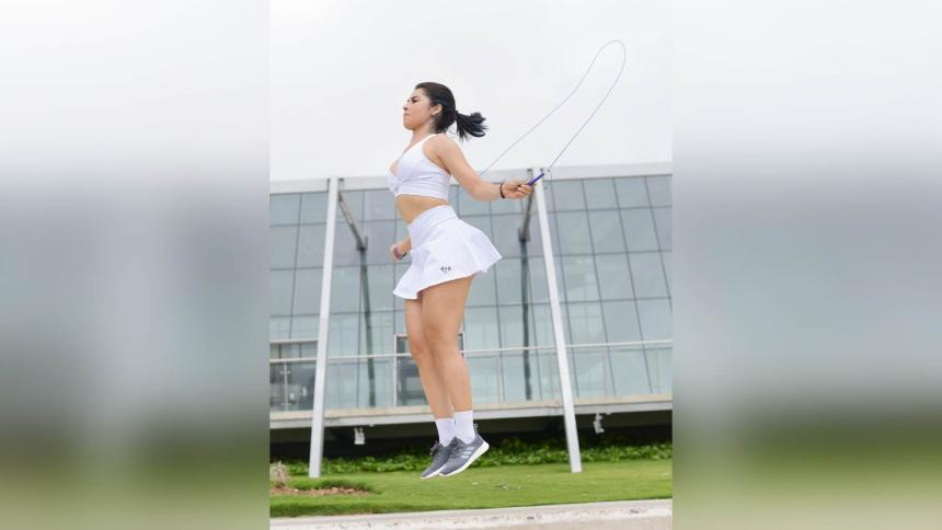 ejercicios básicos para saltar la cuerda