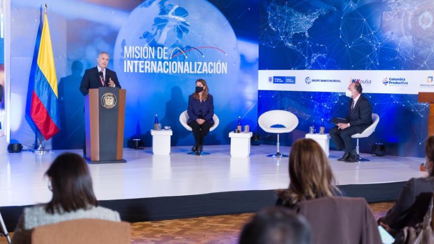 Misión de internacionalización busca ubicar a Colombia en el mercado global