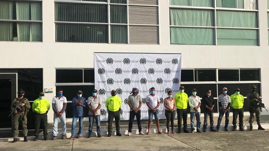 Capturan a nueve personas por contaminar  contenedores con coca en Santa Marta
