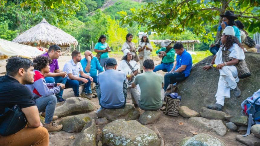 Unimagdalena lideró cruzada intercultural y académica al territorio arhuaco