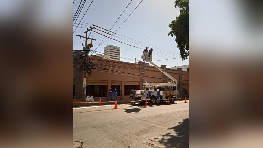 Con recursos Conpes, Centro de Barranquilla tendrá nuevas redes eléctricas