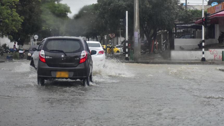 Dimar advierte inicio de tormenta tropical en el Caribe