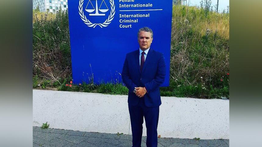 Celebramos informe del CPI por crímenes de lesa humanidad en Venezuela: Duque