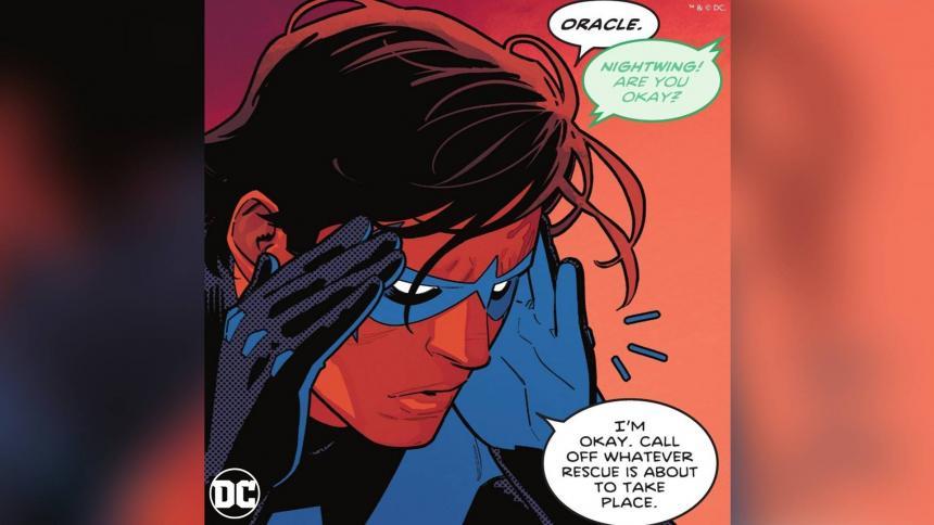Robin, el incondicional compañero de Batman, se declara bisexual