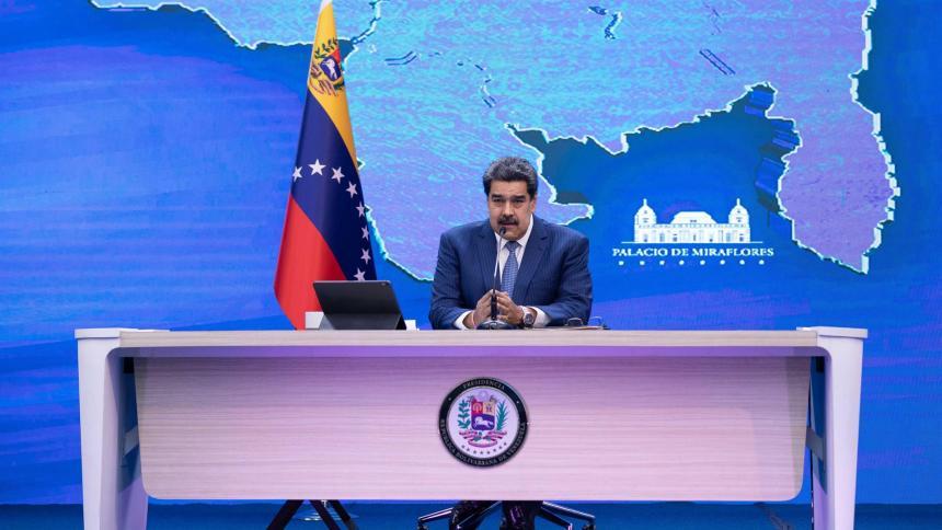Nicolás Maduro elude pronunciarse sobre la muerte de Santrich en Venezuela