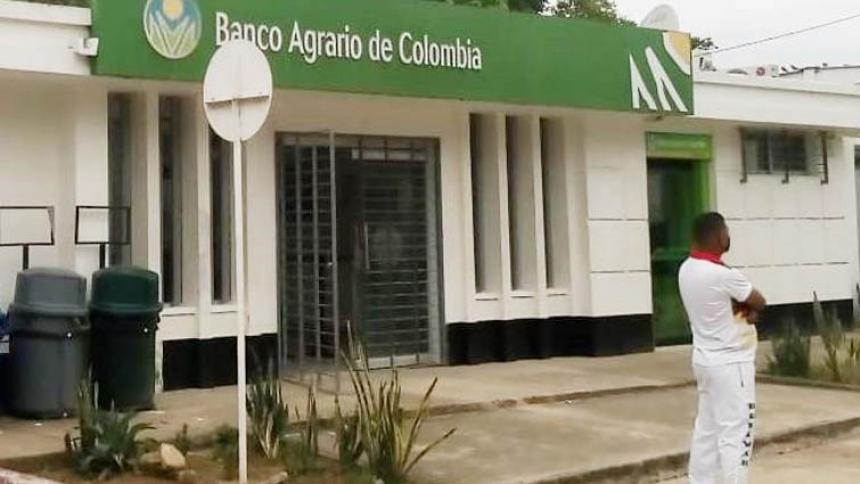 Ladrones ingresan al Banco Agrario en Buenavista, Sucre