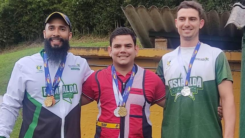 El soledeño Kevin Donado fue el vencedor del Nacional de Tiro en Medellín