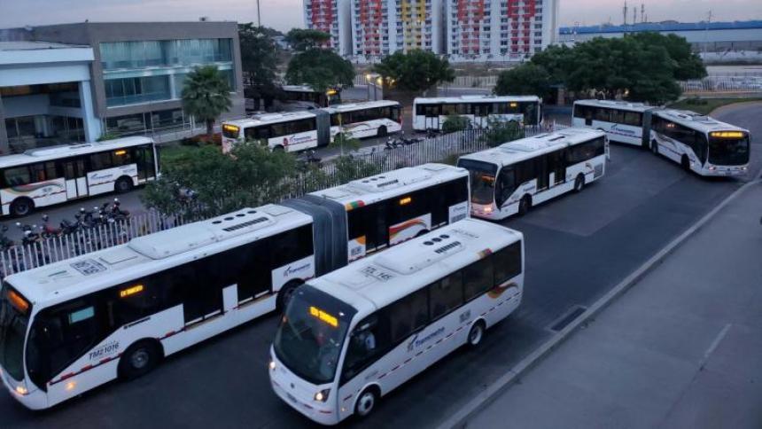 Operadores de Transmetro reanudan servicio desde este martes: Pumarejo