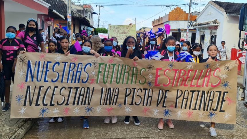 Piden la construcción de escenarios deportivos en San Onofre, Sucre