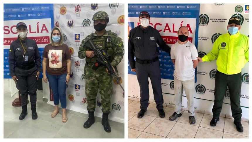 Cen en Colombia dos personas requeridas en España con circular roja