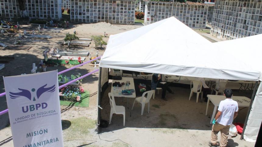 JEP busca preservar terrenos donde podría haber desaparecidos en Sucre