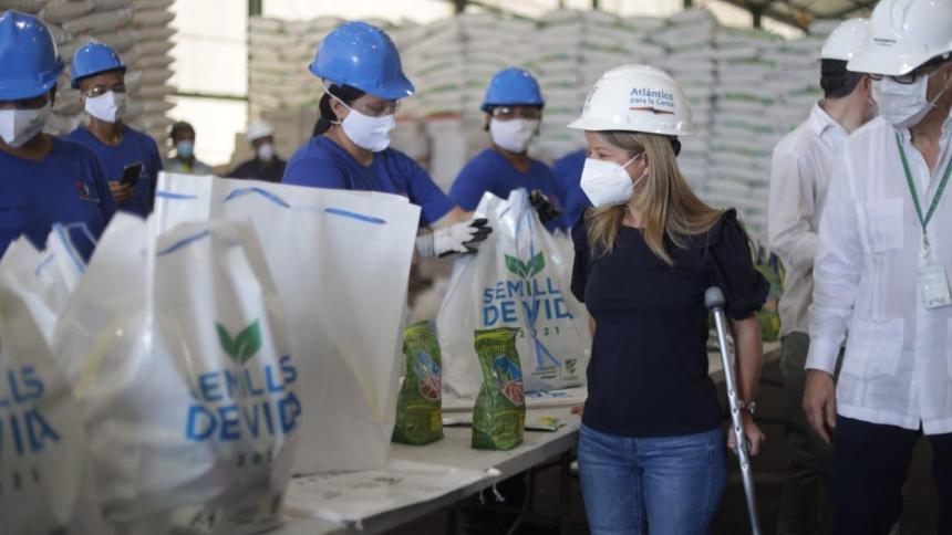 Campesinos de Atlántico recibirán 3.200 kits del programa 'Semillas de Vida'