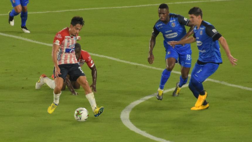Fabián Sambueza espera mejorar su rendimiento en Junior