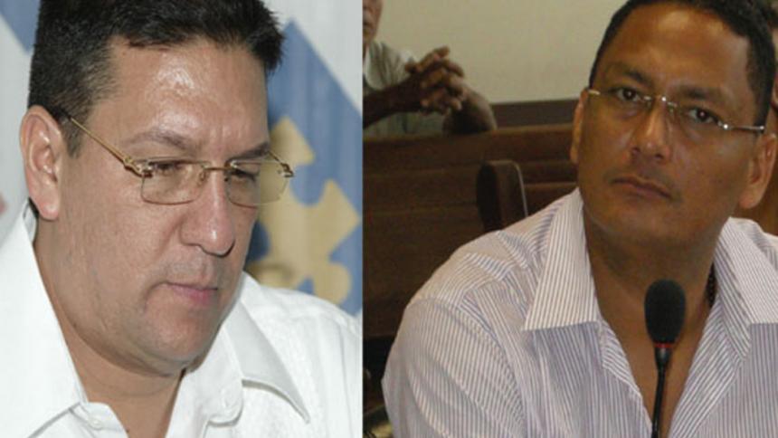 Quitan brazalete electrónico a Diego Vecino y Juancho Dique