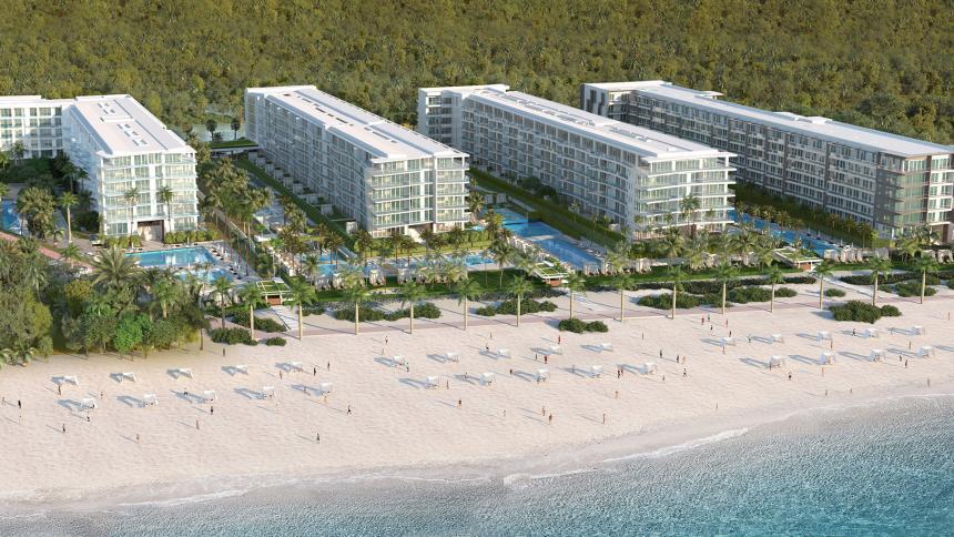 Apartamentos con salida directa a la playa