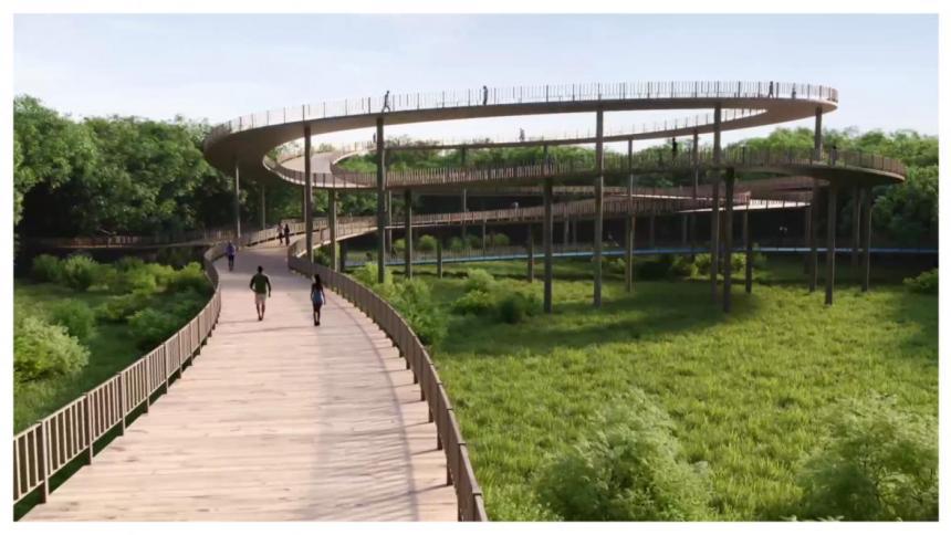 Primeras obras de Mallorquín deben estar listas en el 2022