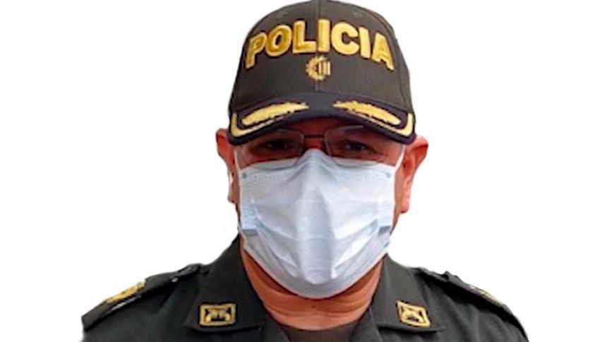 Asume nuevo comandante de la Policía Metropolitana de Santa Marta