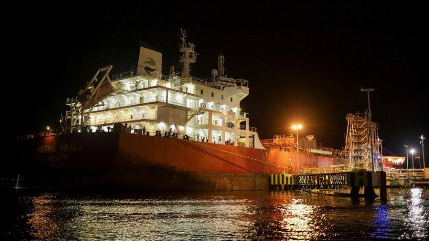 Segundo buque con gasolina llegará a Barranquilla: Minminas