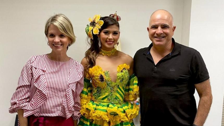 Empresarios respaldan el carnaval de Valeria Charris