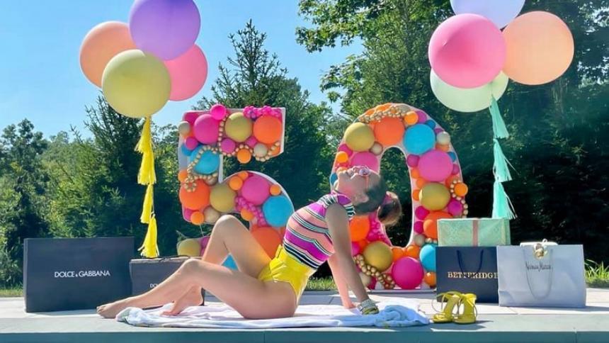 """Thalía: """"¡A celebrar por todo lo alto! ¡Feliz cumpleaños niña T!"""""""