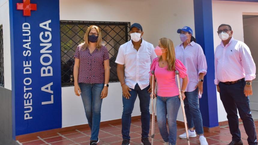 La Bonga y San Martín, en Malambo, ya tienen puestos de salud: Elsa Noguera