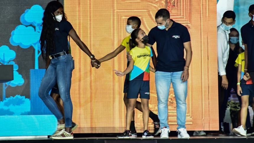 Los medallistas olímpicos, orgullosos de Barranquilla