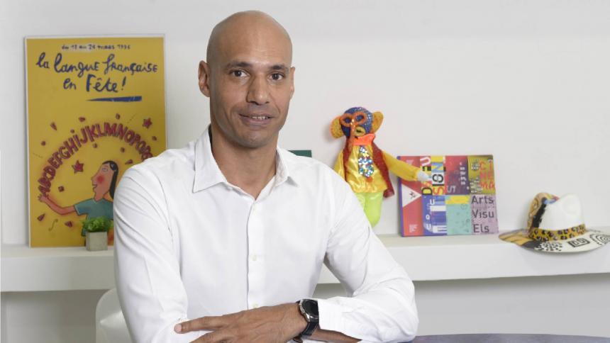 """Frédéric Robinel y su """"alianza"""" con la cultura"""