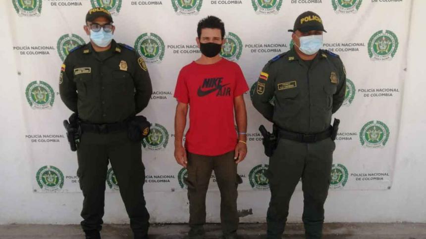 Capturan en La Guajira a extranjero acusado de feminicidio