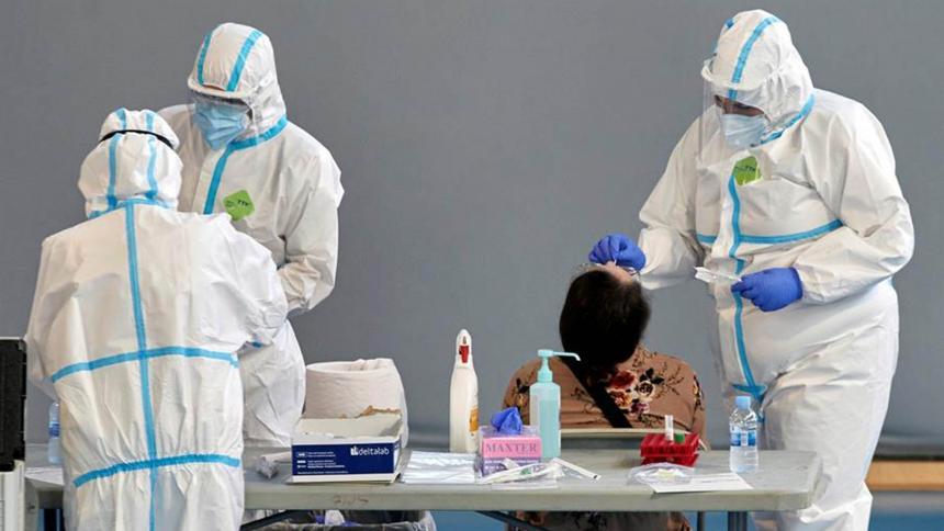 La variante Mu, responsable del tercer pico de contagios en el país