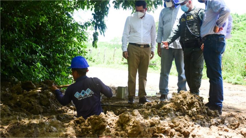 Continúan los operativos contra el robo de agua potable en el Atlántico