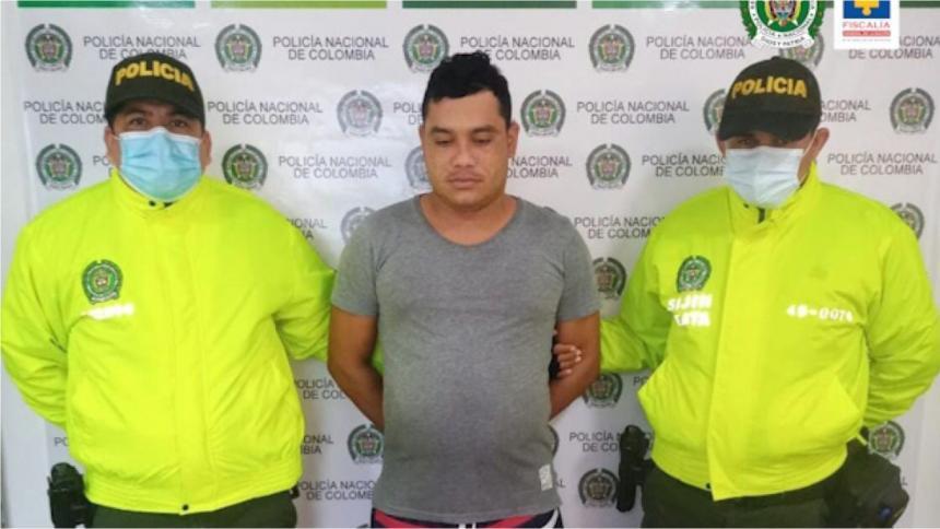 Envían a la cárcel a presunto implicado en el crimen contra un líder social en Sabanalarga