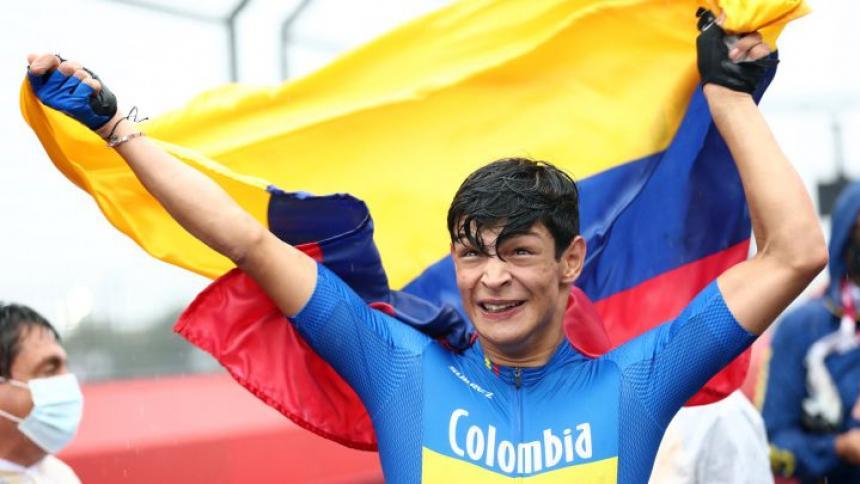 Juan Betancourt gana bronce para Colombia en ciclismo de ruta T1-2