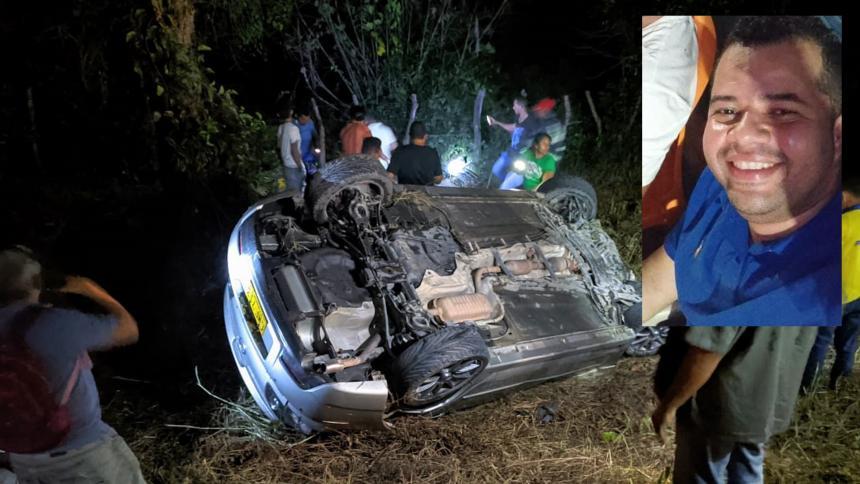 Trabajador minero muere en accidente de tránsito en Cesar