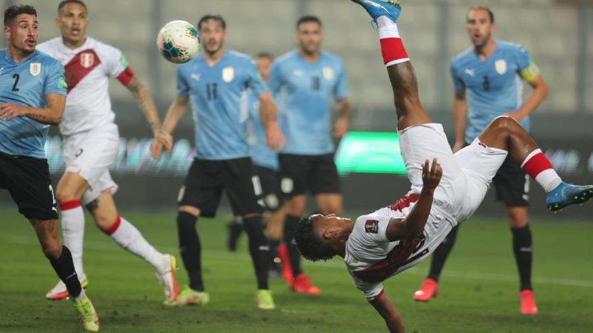 Perú 1, Uruguay 1: no bastó el gol de chalaca Renato Tapia