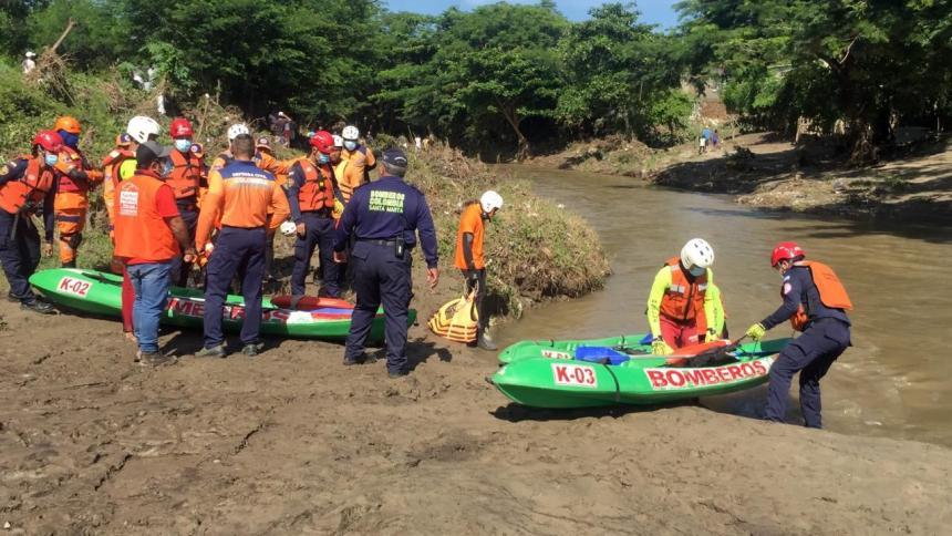 No aparece menor que cayó al río Manzanares en Santa Marta