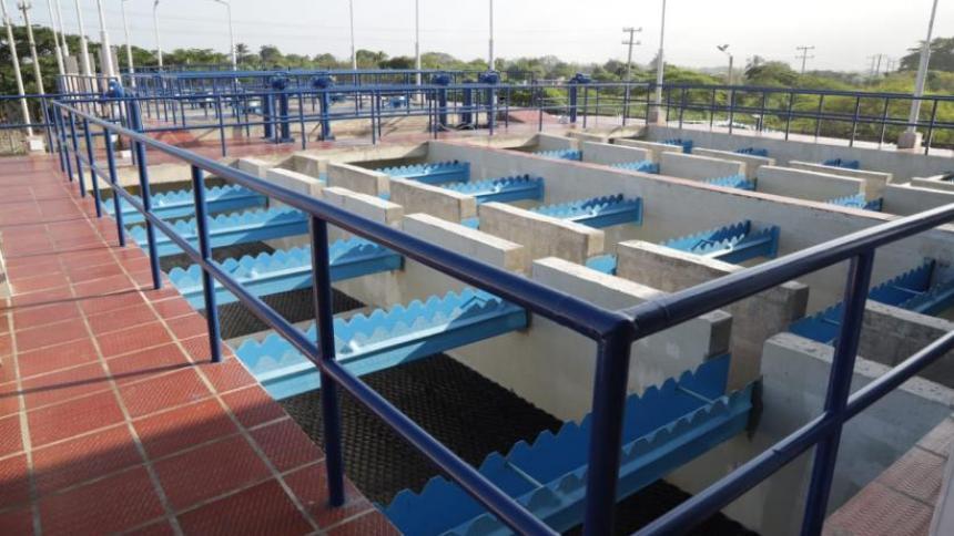 Nueva planta de agua potable de Sabanagrande, a un paso de entrar en servicio