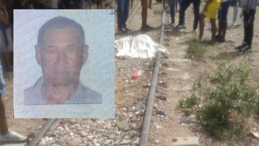 Hombre murió atropellado por una locomotora en vía férrea de Santa Marta