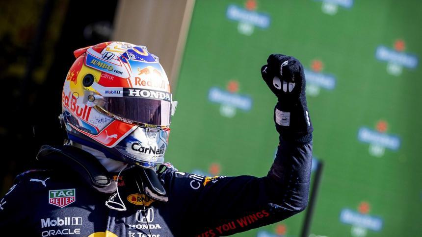 Max Verstappen partirá primero en el Gran Premio de los Países Bajos