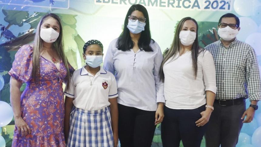 Estudiante corozalera representará a Veolia Sabana en concurso ambiental