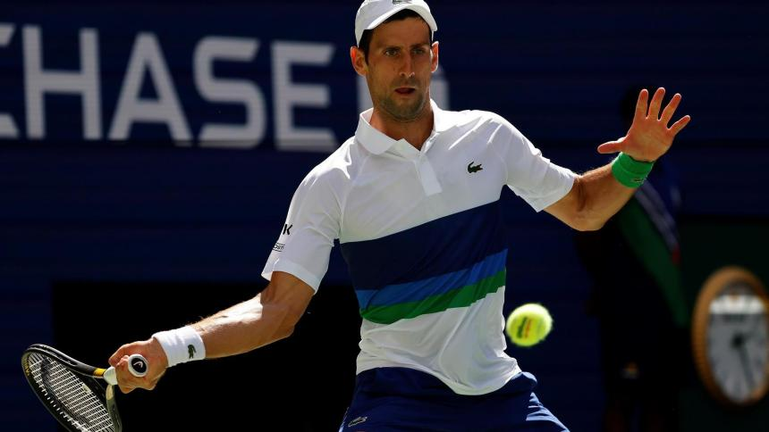 Novak Djokovic clasificó a los octavos de final del US Open