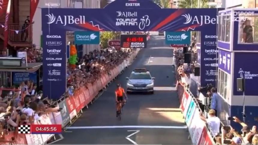 Robin Carpenter es el nuevo líder tras vencer en la segunda etapa